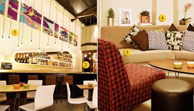 Idéias inspiradoras de decoraç u00e3o para Restaurantes e bares Gest u00e3o de Restaurantes -> Decoração Simples Para Mesa De Restaurante