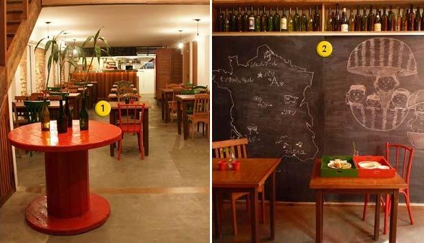 Id ias inspiradoras de decora o para restaurantes e bares - Bares pequenos para casas ...