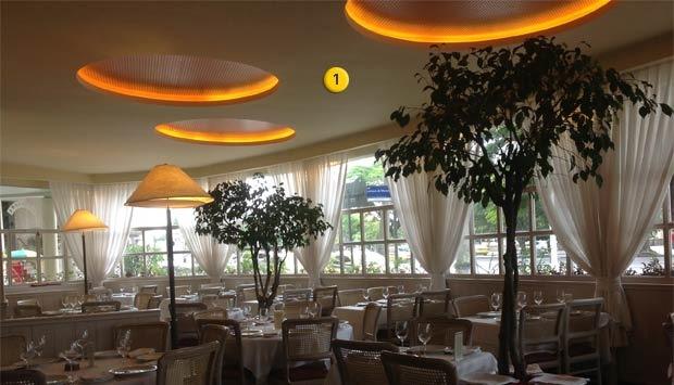 piso -> Decoração Simples Para Mesa De Restaurante