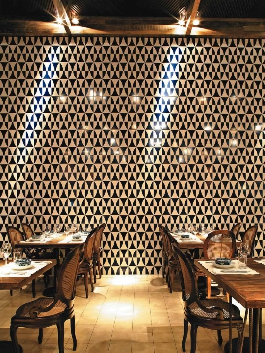 Arquitetura for Restaurante azulejos